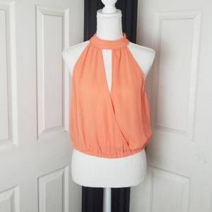Bebe Collared Blouse Top - NWT - Size S - Small